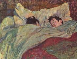 in bed 1893 henri de toulouse lautrec wikiart org