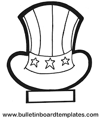 coloring pages 4th of july hat 125 free throughout uncle sam page