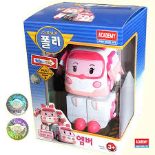 amazon robocar poli amber transforming robot toy toys