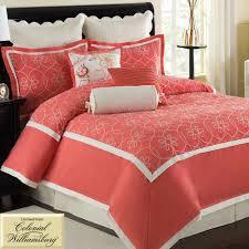 Coral Bedrooms Bedroom Beautiful Ocean Coral Comforter Set For Gorgeous Sea