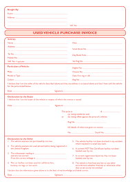 Service Invoice Template Free Word by Download Used Car Invoice Template Rabitah Net