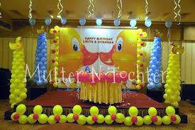 Birthday Party Idea Rubber Ducky Theme First Birthday Party