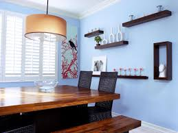 Wall Decorating Ideas For Dining Room by Dining Room Wall Decor Shelves Decoraci On Interior
