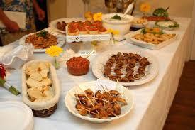 food tables at wedding reception wedding food ideas a beach wedding no matter what