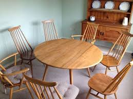 Ercol Dining Table And Chairs 56 Best Dining Table Images On Pinterest Dining Room Tables