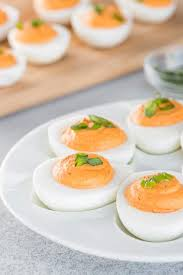 deviled egg dishes roasted pepper deviled eggs sweet savory by shinee