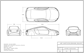 orthographic car orthographic drawing pinterest cars