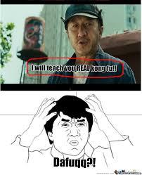 Karate Kid Meme - the karate kid i will teach you real kong fu by