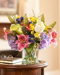 coffee table floral arrangements stylish silk flower centerpieces within tropical orchids ginger