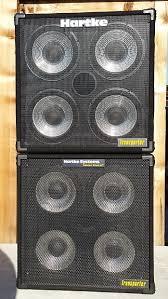 hartke 410xl bass cabinet hartke 410 transporter 410tp bass guitar cabinets in denver reverb