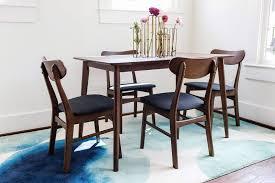 mid century modern dining room sets gramercy mid century modern dining chair set of 2