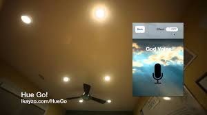 hue go app for philips hue color changing led light bulbs youtube