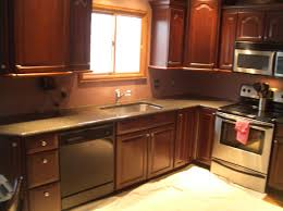 Red Kitchen Backsplash Red Glass Tile Backsplash The Modern Designs Glass Tile Kitchen
