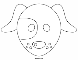 7 best images of dog mask cut out printable dog mask printable