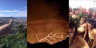 Hawaii how fast does lightning travel images Hawaii snapchat story draws 3 8 million views hawaii blog jpg