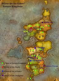 kalimdor map kharins quest finding the elders of kalimdor