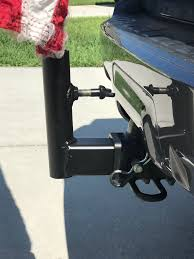 Flag Pole Winch Hitch Mounted Flag Pole Holder Tacoma World