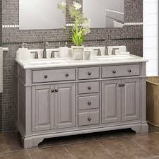 carolina 60 white double sink vanity by lanza casanova 60 antique gray double sink vanity by lanza