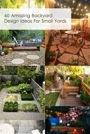 Landscaping Ideas For Small Backyard 20 Awesome Small Backyard Ideas Small Backyard Design Backyard
