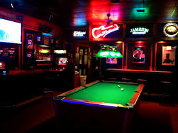 Bars With Pool Table Gallery Table Decoration Ideas