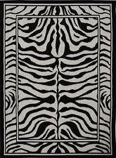 Zebra Area Rugs Zebra Print Rug Ebay