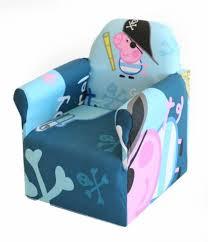 Cartoon Armchair George Peppa Pig Childrens Branded Cartoon Character Armchair
