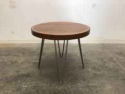 round walnut side table 18 round walnut side table dave marcoullier wood routings