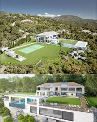 a set of extraordinary villas with a modern architecture u2013 graphic