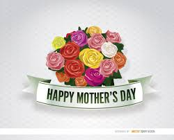 Mother S Day Flower Mothers Day Vector Graphics To Download