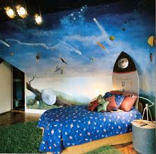 bedroom amazing kids bedroom ideas with blue fabric bedding set