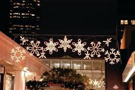 outdoor hanging snowflake lights snoflake lights led snowflake string lights star fairy lights home