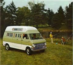 Vintage Ford Econoline Truck - 1969 ford econoline camper van campervans pinterest ford