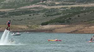 Utah snorkeling images Girl snorkeling in sharks cove hawaii pupukea beach park stock jpg