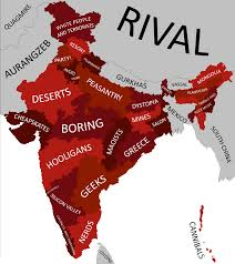 Map Of Indian States by Map Of Indian States With Each State U0027s Stereotype Listed 1064