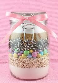 gift idea cookies in a jar