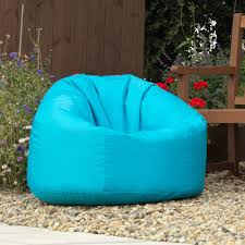 Outdoor Bean Bag Chair by Bean Bag Bazaar Panelled Xl Bean Bag Chair Indoor Outdoor Aqua
