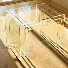 modern nest of tables uk home nesting tables
