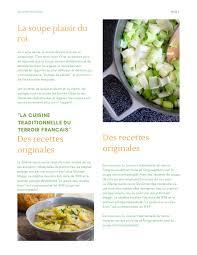 cuisine du terroir fran軋is hellouin magazine printemps 2017