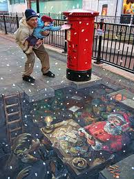 wallpaper 3d street obstacle illusions 3d street art illusions