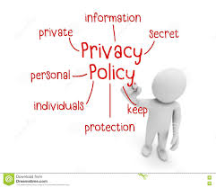 privacy policy stock illustration image 74693505