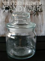 diy etched halloween candy jar living la vida holoka