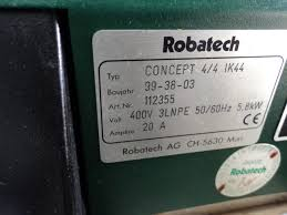 others used other machines robatech concept 4 gluing system