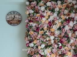 wall flowers tutorial on diy flower wall