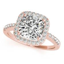 gold cushion cut engagement rings gold engagement ring fresh cushion cut with side stones halo