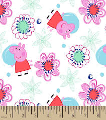 joanns halloween fabric peppa pig floral print fabric joann
