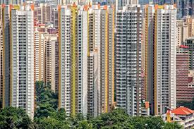 singapore apartments high rise apartments blocks in singapore stock photo picture and