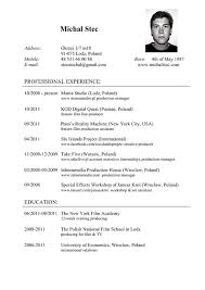 Resumed Meaning Resume Cv Free Excel Templates