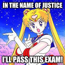 Sailor Moon Meme - sailor moon exam motivator memes quickmeme