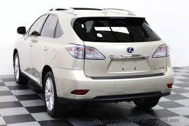 used lexus rx 450h hybrid 2012 used lexus rx 450h certified rx450h awd hybrid suv premium