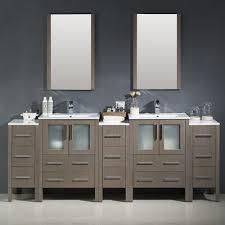 84 Double Sink Bathroom Vanity by Fresca Cambridge 84